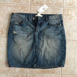 Denim Skirt, H&M, NWT